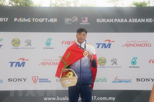 ASEAN Para Games: Viet Nam de tuot vi tri thu 3 vao tay Thai Lan hinh anh 1
