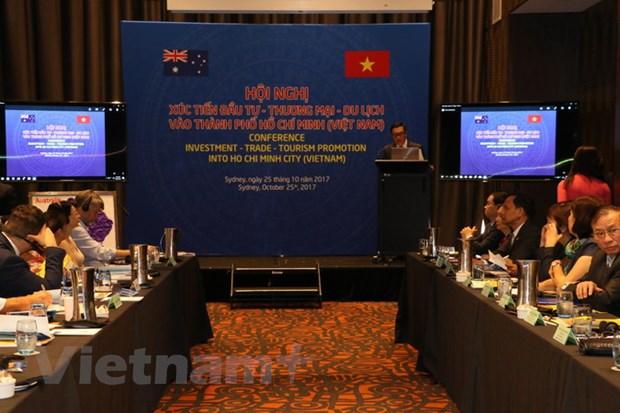 TP. Ho Chi Minh gioi thieu co hoi dau tu voi doanh nghiep Australia hinh anh 1