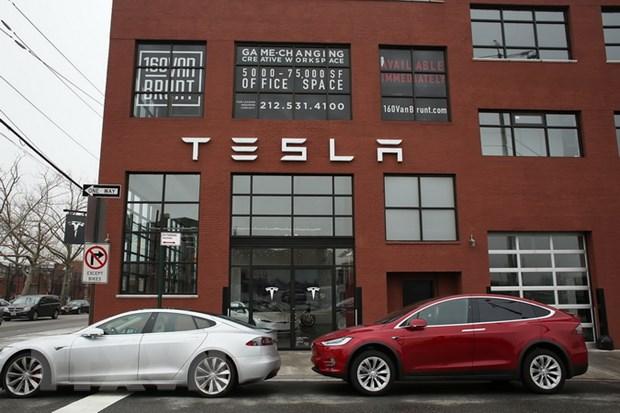 "Tesla van ""dau dau"" trong viec tang san luong mau xe Model 3 hinh anh 1"