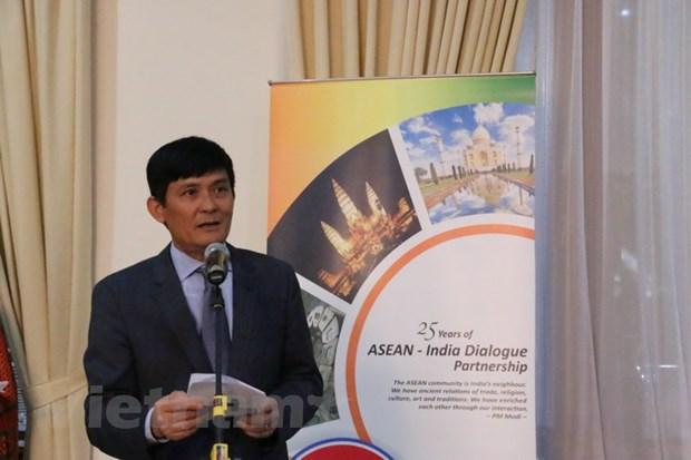 Xay dung quan he doi tac chien luoc ASEAN-An Do manh me hon hinh anh 1