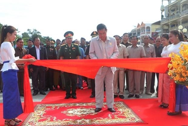 Khanh thanh Dai Huu nghi Viet Nam-Campuchia ben bo song Sekong hinh anh 1