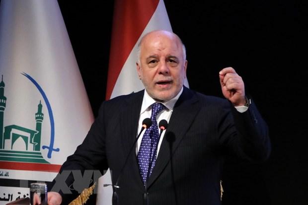 Thu tuong Iraq Haider Abadi thong bao se tai tranh cu hinh anh 1