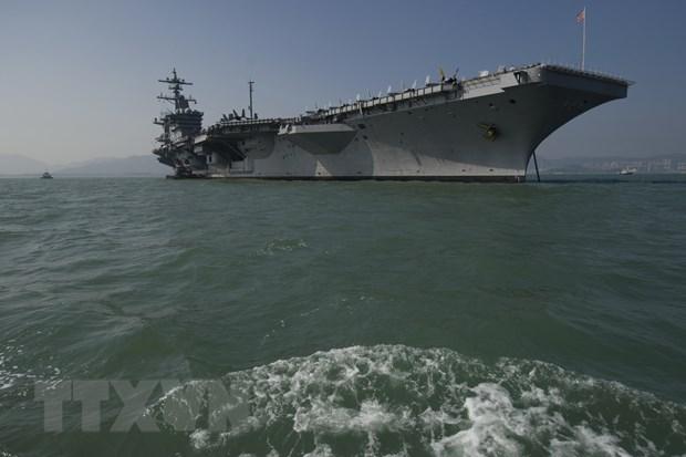 My khang dinh tau USS Carl Vinson mang lai su on dinh cho Bien Dong hinh anh 1