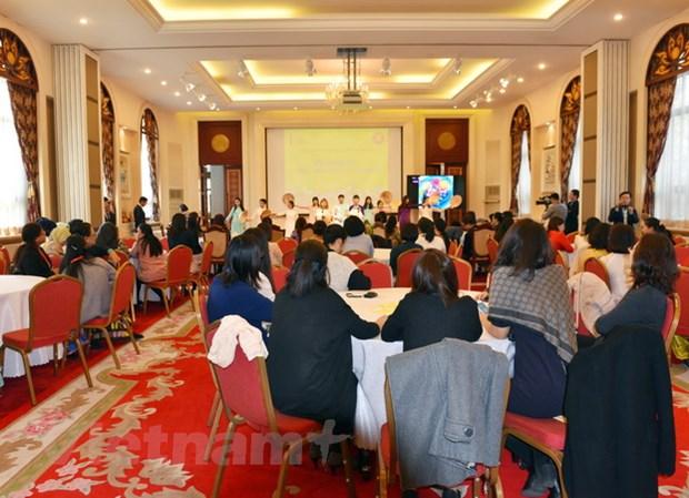 Giao luu phu nu ASEAN va quang ba van hoa Viet Nam tai Trung Quoc hinh anh 1