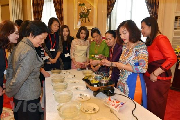 Giao luu phu nu ASEAN va quang ba van hoa Viet Nam tai Trung Quoc hinh anh 4