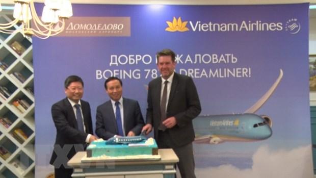 Vietnam Airlines danh dau buoc phat trien moi o thi truong Nga hinh anh 2