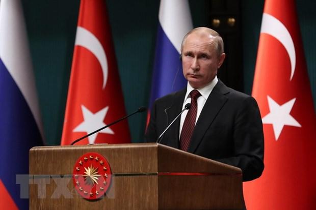 Tong thong Putin canh bao NATO tang cuong binh luc sat bien gioi Nga hinh anh 1