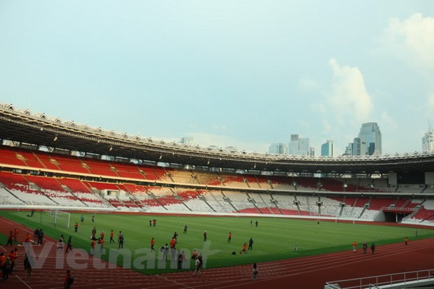 ASIAD 18: Indonesia hoan thien Khu to hop the thao Gelora Bung Karno hinh anh 3
