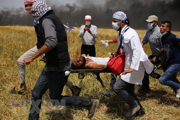 May bay Israel tan cong muc tieu quan su cua Hamas tai Gaza hinh anh 1