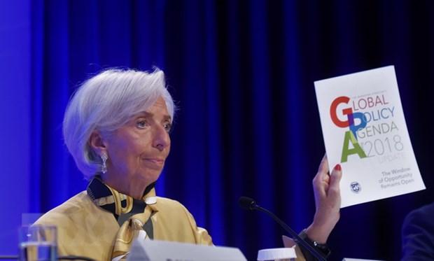 IMF hoi thuc My va Trung Quoc giai quyet cang thang thuong mai hinh anh 1