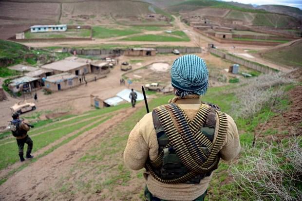 Phien quan Taliban tan cong sat hai 16 nhan vien an ninh Afghanistan hinh anh 1