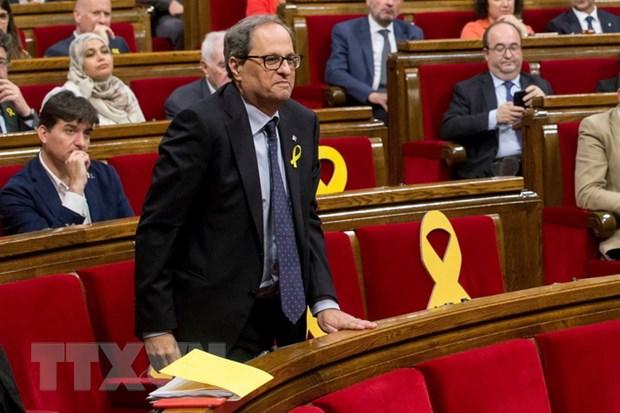 Tay Ban Nha: Chinh quyen moi tai vung Catalonia nham chuc hinh anh 1