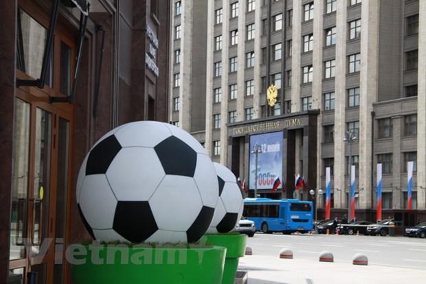 World Cup 2018 van chua lam 'nong' bau khong khi o Moskva hinh anh 1