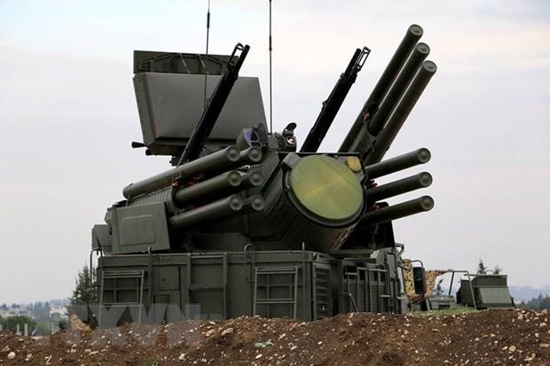 Syria mang he thong phong khong Pantsir toi gan Cao nguyen Golan hinh anh 1