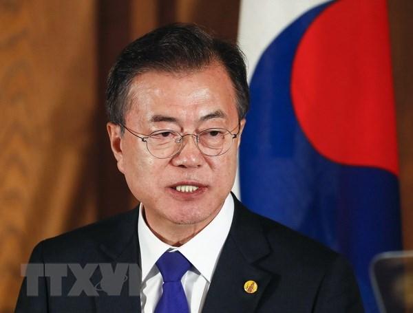 Han Quoc: Dang Dan chu thang ap dao, lanh dao dang doi lap tu chuc hinh anh 1
