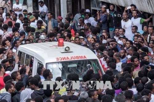 Ethiopia bat 9 canh sat cap cao sau vu tan cong luu dan o Addis Ababa hinh anh 1