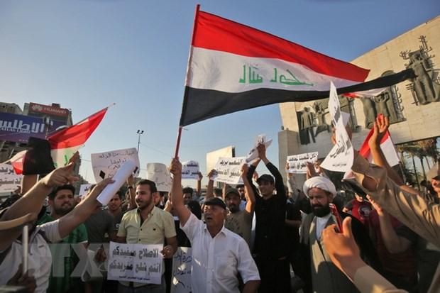 Iraq: Bieu tinh lon phan doi nan that nghiep va dich vu cong kem hinh anh 1