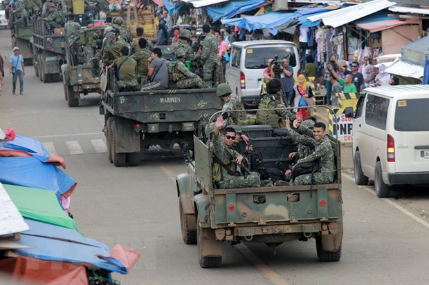 Tong thong Philippines de nghi Abu Sayyaf dam phan cham dut xung dot hinh anh 1