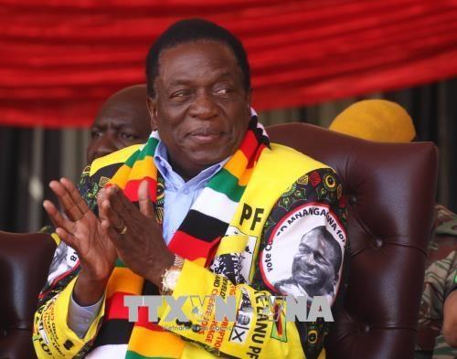 Bau cu tai Zimbawe: Tong thong Emmerson Mnangagwa tai dac cu hinh anh 1