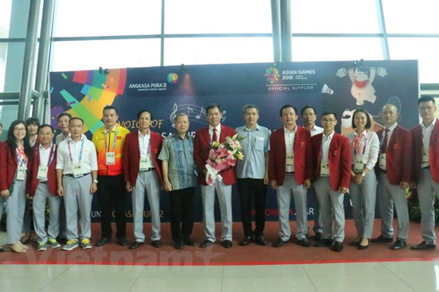 The thao Viet Nam don nhan su ung ho nhiet tinh tai Indonesia hinh anh 1