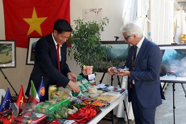 Lan dau tien Viet Nam tham gia Hoi cho Ot quoc te tai Italy hinh anh 1