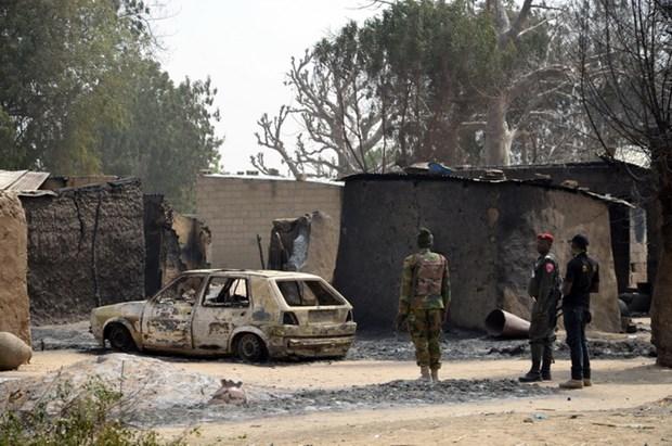 Phien quan Boko Haram sat hai it nhat 30 binh sy Nigeria hinh anh 1