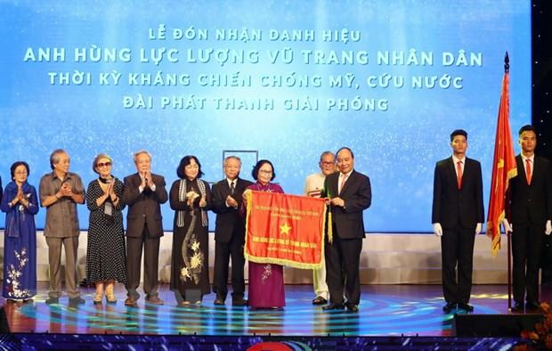 Thu tuong trao danh hieu Anh hung cho Dai Phat thanh Giai phong hinh anh 1