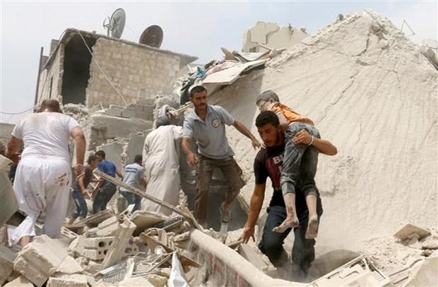 SOHR: Hon 360.000 nguoi thiet mang trong 7 nam giao chien o Syria hinh anh 1