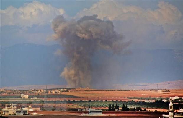 Syria: Phe noi day o Idlib chuan bi tan cong vao Aleppo va Hama hinh anh 1