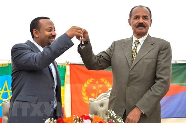 Ethiopia-Eritrea ky hiep uoc hoa binh, cham dut cuoc chien 20 nam hinh anh 1