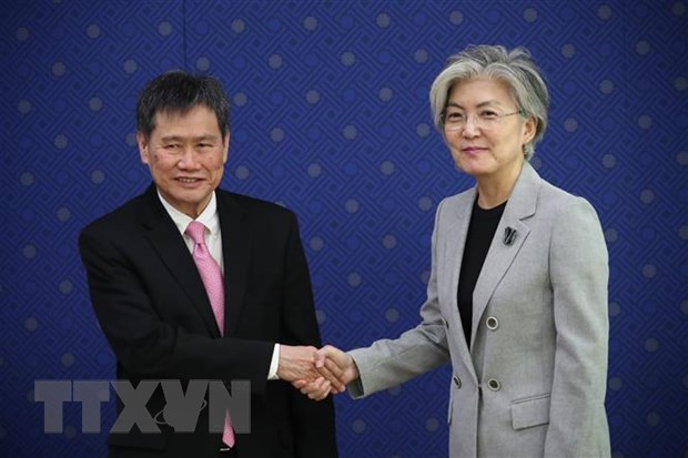 Thuc day chinh sach huong Nam, Han Quoc tang hop tac voi ASEAN hinh anh 1