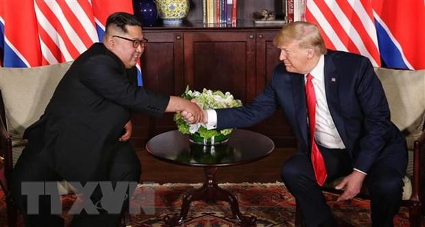 Ong Trump muon som tien hanh cuoc gap thuong dinh My-Trieu lan 2 hinh anh 1