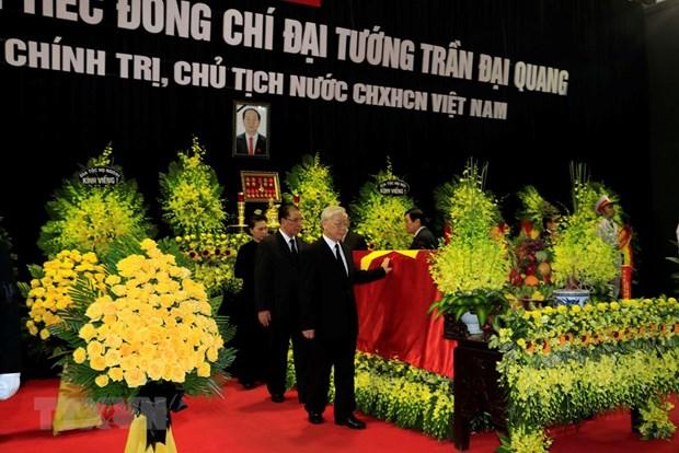 Cu hanh trong the Le truy dieu Chu tich nuoc Tran Dai Quang hinh anh 2