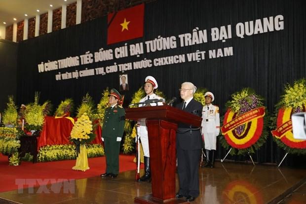 Cu hanh trong the Le truy dieu Chu tich nuoc Tran Dai Quang hinh anh 1