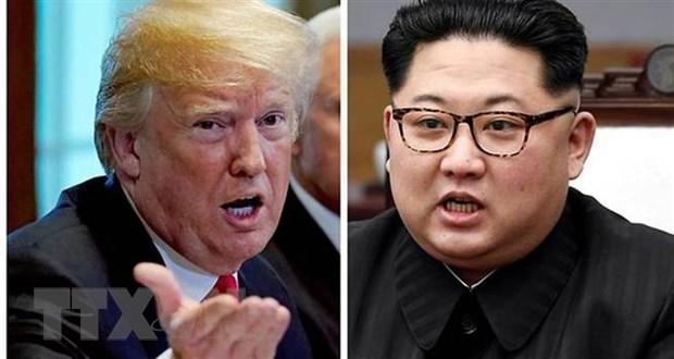 Thong diep cua lanh dao Trieu Tien gui Tong thong My Donald Trump hinh anh 1