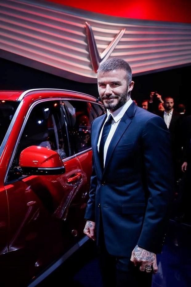 Nhin lai man ra mat cua VinFast cung sieu sao David Beckham hinh anh 1