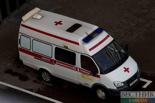 Nga: Hai xe khach dam truc dien khien 13 nguoi thiet mang hinh anh 1