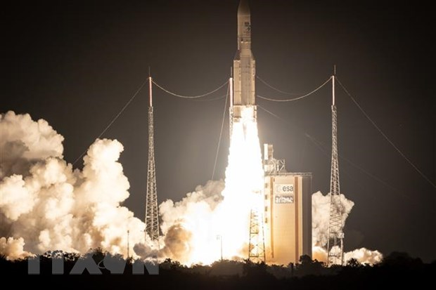 Chau Au phat trien ten lua day Ariane-6 moi phong tau len vu tru hinh anh 1