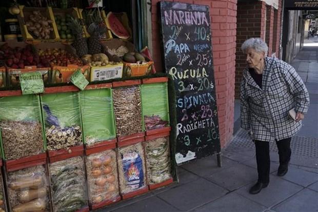 Kinh te Argentina se roi xuong muc