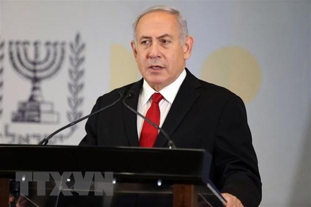 Thu tuong Israel voi va tro ve tu Phap do tinh hinh tai Dai Gaza hinh anh 1