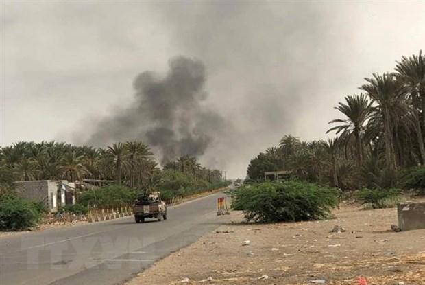 Yemen: Chien su tai thanh pho cang Hodeida bat dau ha nhiet hinh anh 1