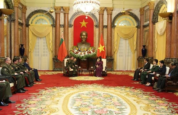 Tang cuong quan he Viet Nam-Belarus tren cac linh vuc tiem nang hinh anh 3