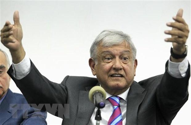 Tong thong dac cu Mexico cong bo ke hoach an ninh quoc gia moi hinh anh 1