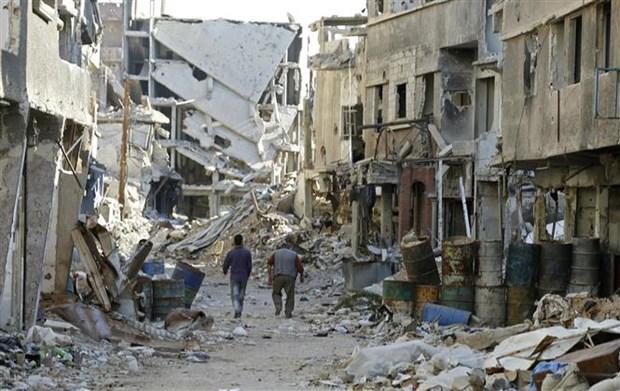 Quan doi Syria danh bat toan bo cac tay sung IS khoi mien Nam hinh anh 1