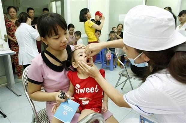Ha Noi phan dau tren 99,8% tre em duoc uong bo sung vitamin A lieu cao hinh anh 1
