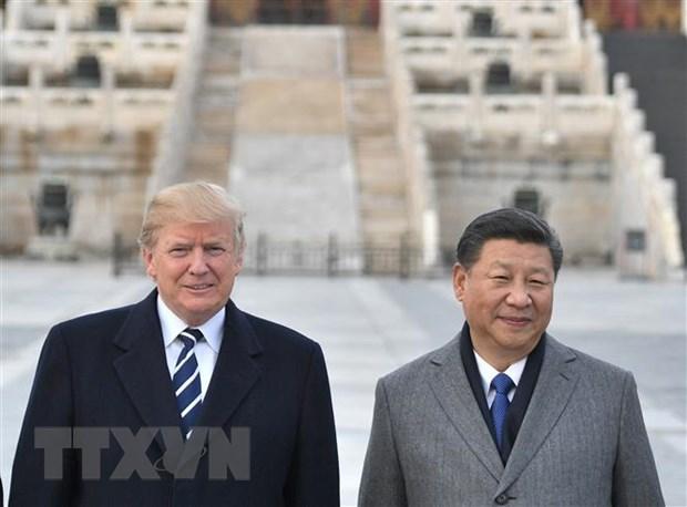Tong thong My Trump se dan dau dam phan thuong mai voi Trung Quoc hinh anh 1