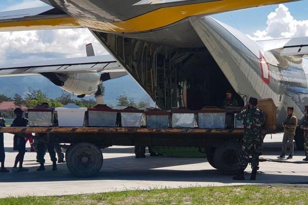 Indonesia: Tim thay hang chuc thi the trong vu tan cong o Papua hinh anh 1