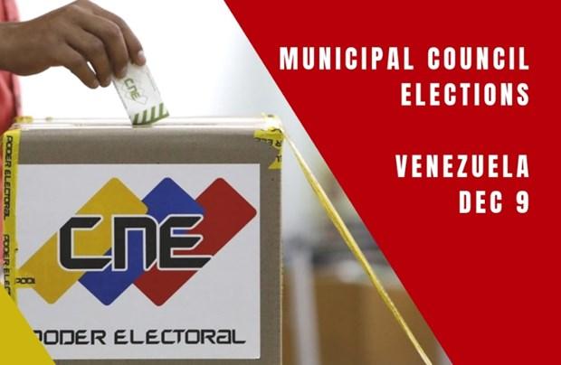 Venezuela trien khai hang tram nghin canh sat bao ve an ninh bau cu hinh anh 1