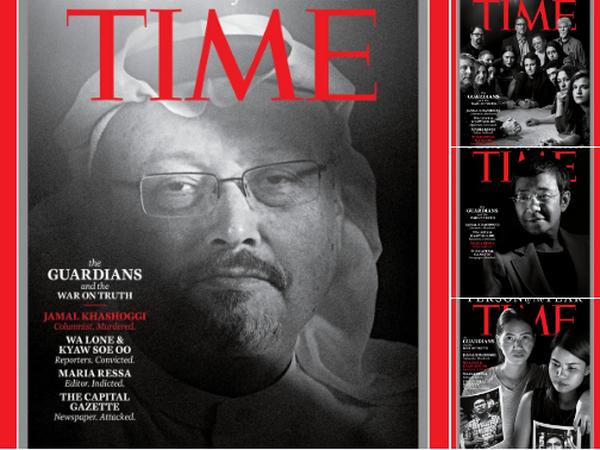 Nha bao Khashoggi duoc Tap chi Time vinh danh la 'Nhan vat cua Nam' hinh anh 1