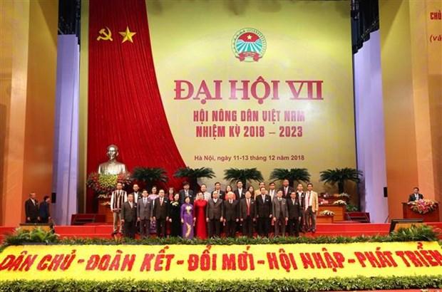 Khai mac Dai hoi dai bieu toan quoc Hoi Nong dan Viet Nam lan thu VII hinh anh 2